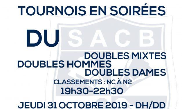1ere étape du circuit du Badminton Cubzaguais