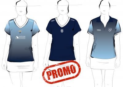 maillots et polo femme promo